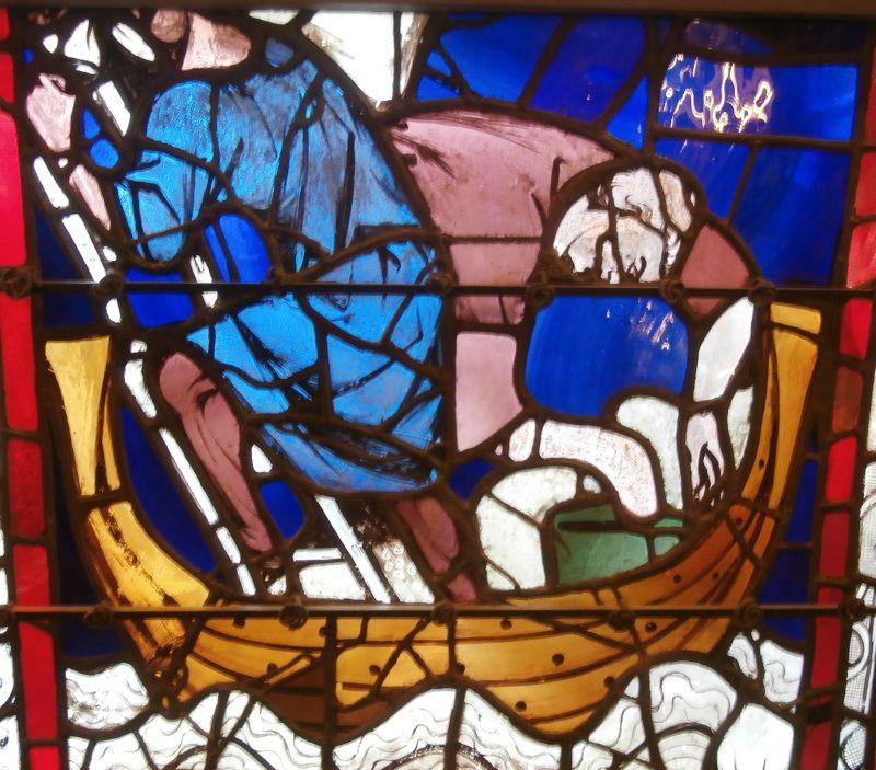 Dokers de Rouen, une des plus vieilles professions de la ville portuaire, Les marchands de blé formaient une corporation puissante à Rouen. Située sur la Seine à 80 kilomètres de la Manche, Rouen depuis des siècle est un grand port fluvio-marin. Les céréales récoltées y convergent encore aujourd'hui , c'est le premier port céréalier d'Europe, et le numéro un au monde pour le blé, ce qui permet à X Beulin de faire le sien.