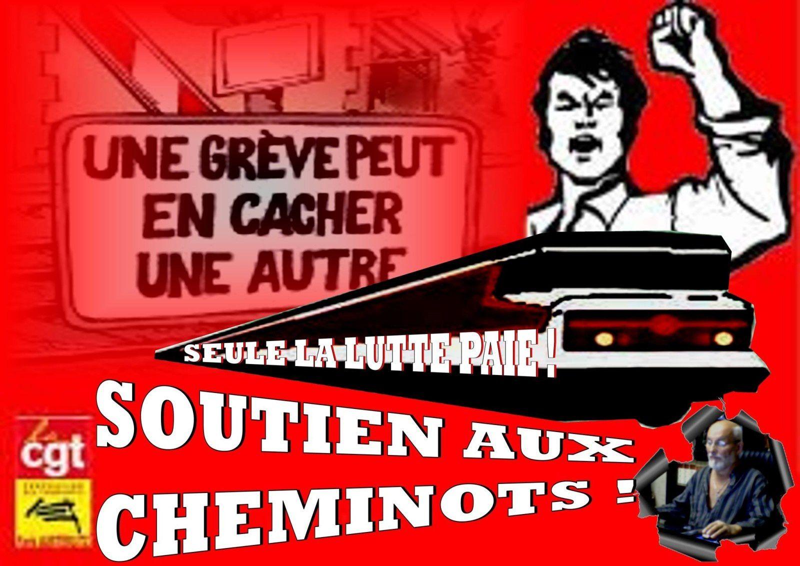 Mouvement social et Cheminots,