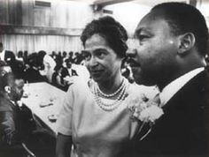 Rosa Parks et Martin Luther Hing