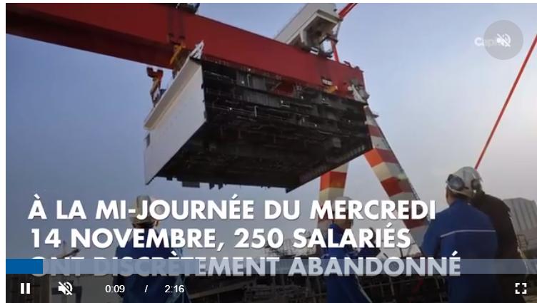St Nazaire : Où donc sont-ils passés ? Pourquoi si vite