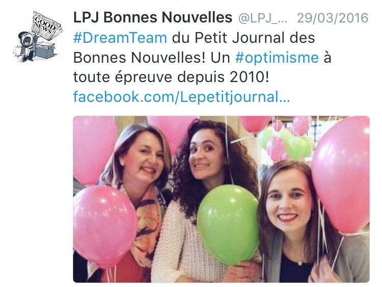 Petit Journal des Bonnes Nouvelles