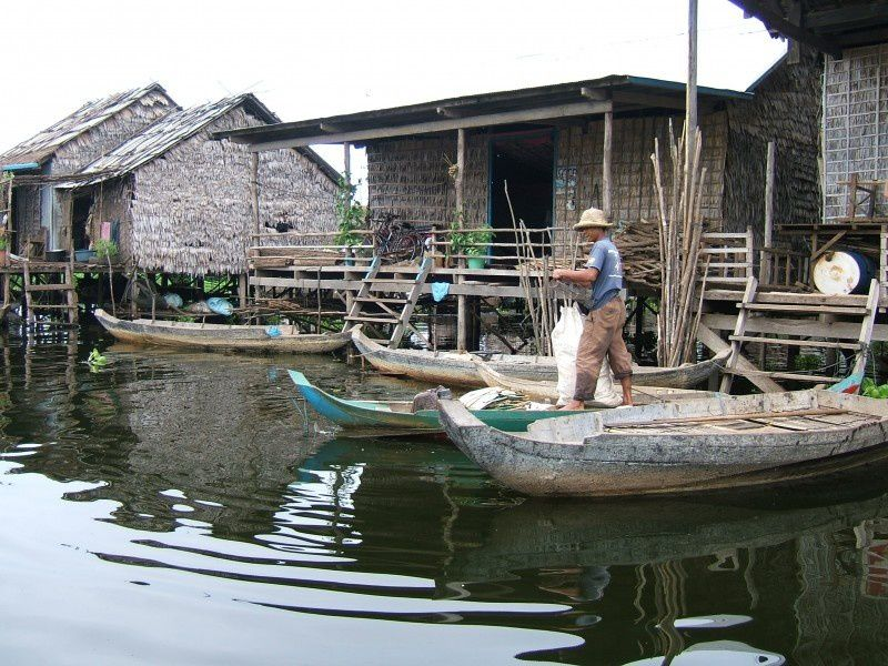 Le lac Tonlé Sap et ses villages flottants