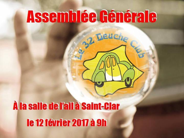 L'ASSEMBLEE GENERALE 2017