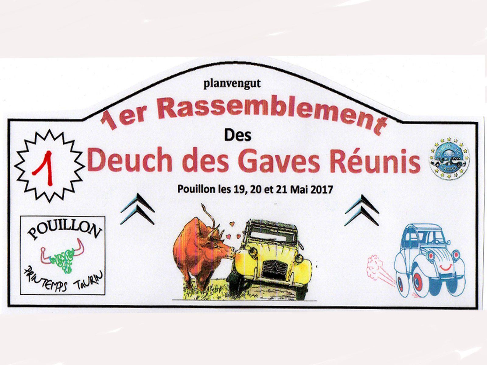 1er RASSEMBLEMENT DU CLUB DES GAVES REUNIS