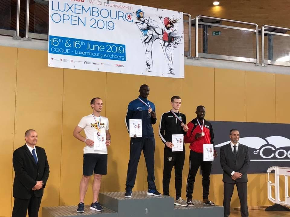 STKD77 - 3 MÉDAILLES - OPEN INTERNATIONAL - LUXEMBOURG 2019