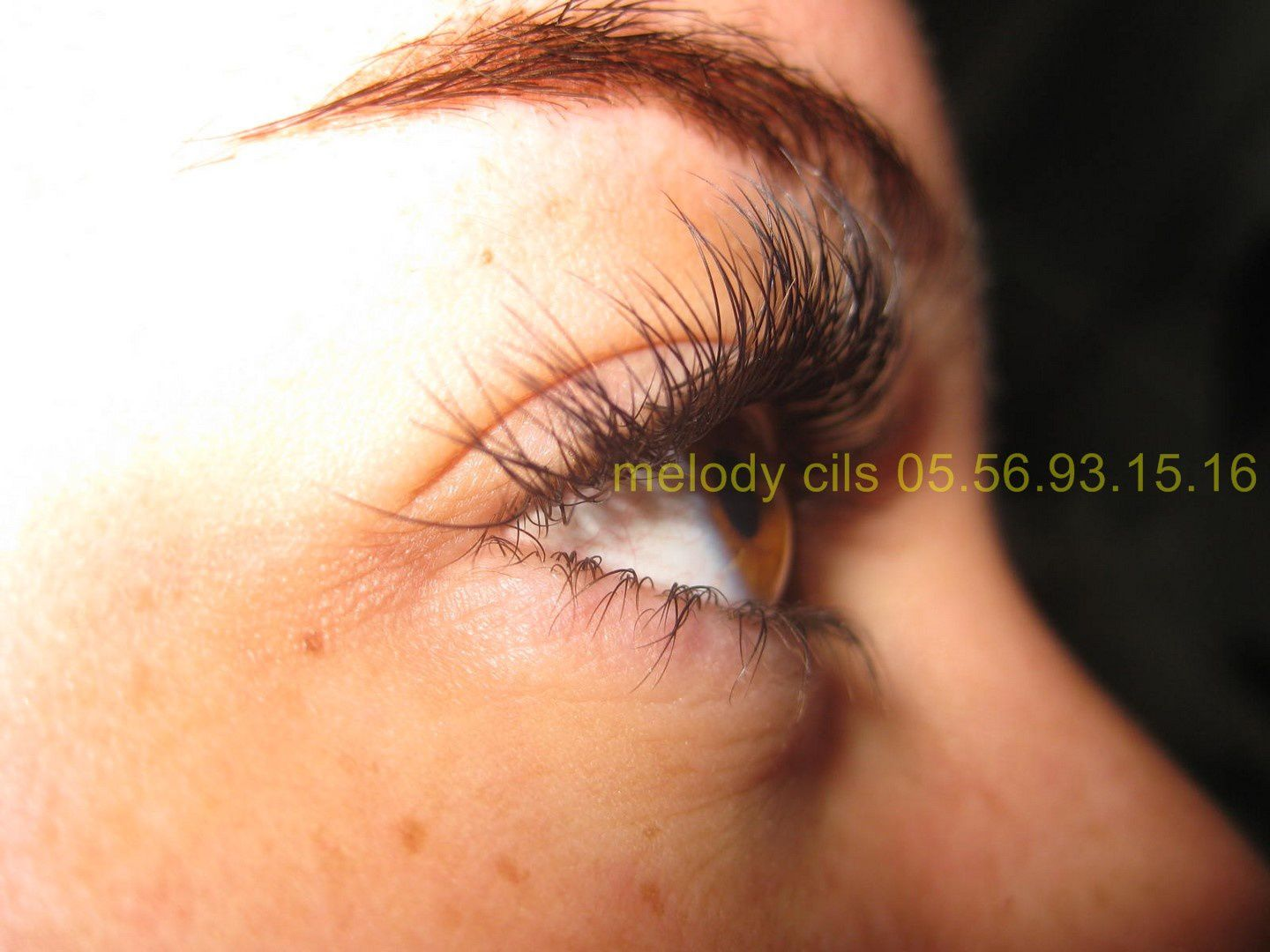 #extension de cils Melody