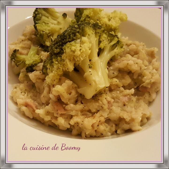 Risotto brocolis / thon (I-Cook'in)