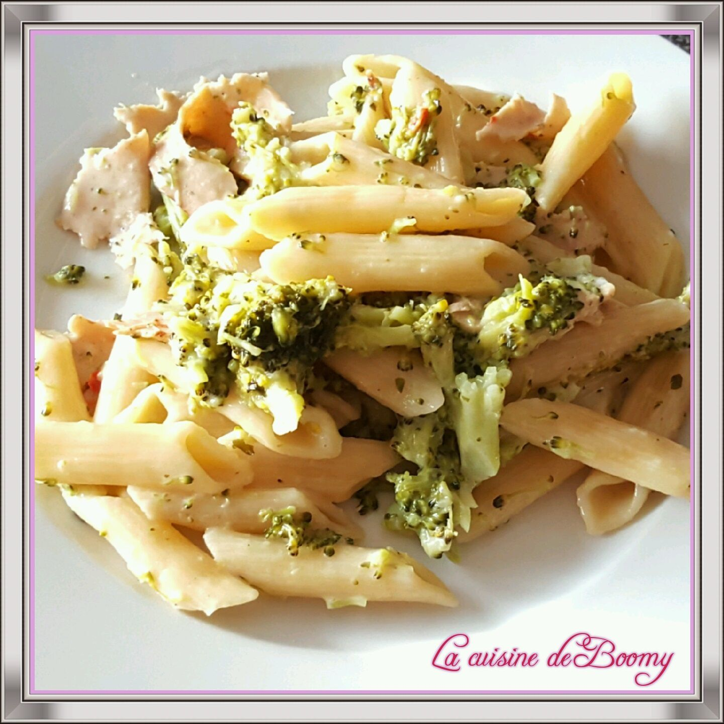 One pot pasta brocolis jambon de volaille (Cookeo)