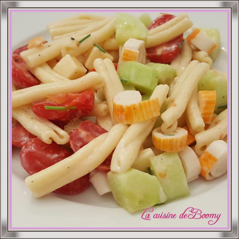 Salade de pâtes sauce Caesar ww