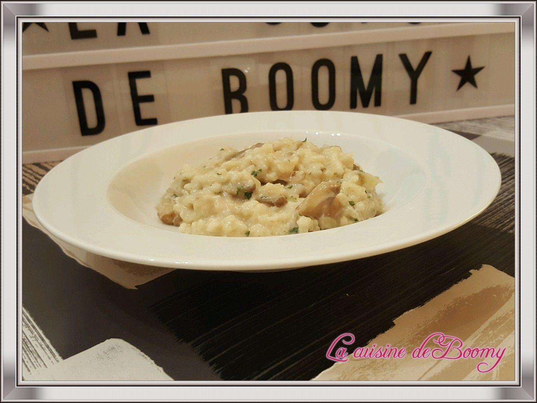 Risotto aux champignons (Cookeo)
