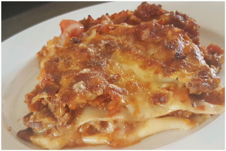 Lasagnes avec béchamel