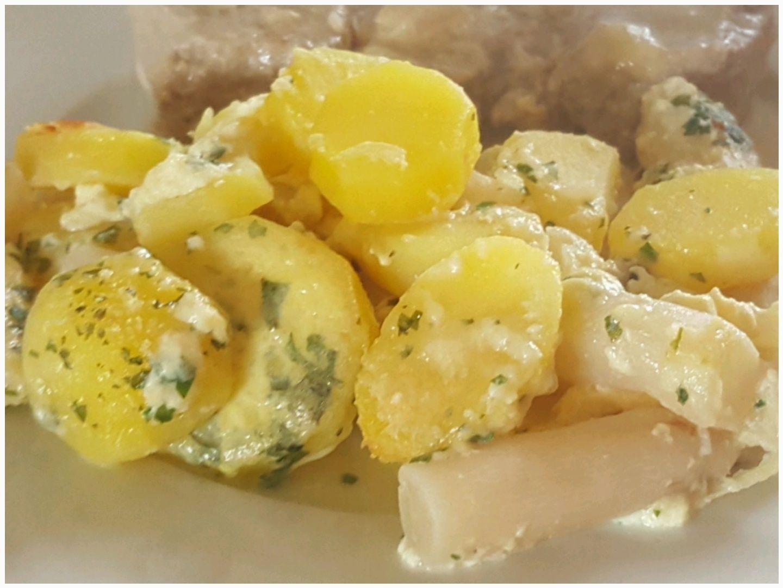 Pommes de terre et salsifis en gratin