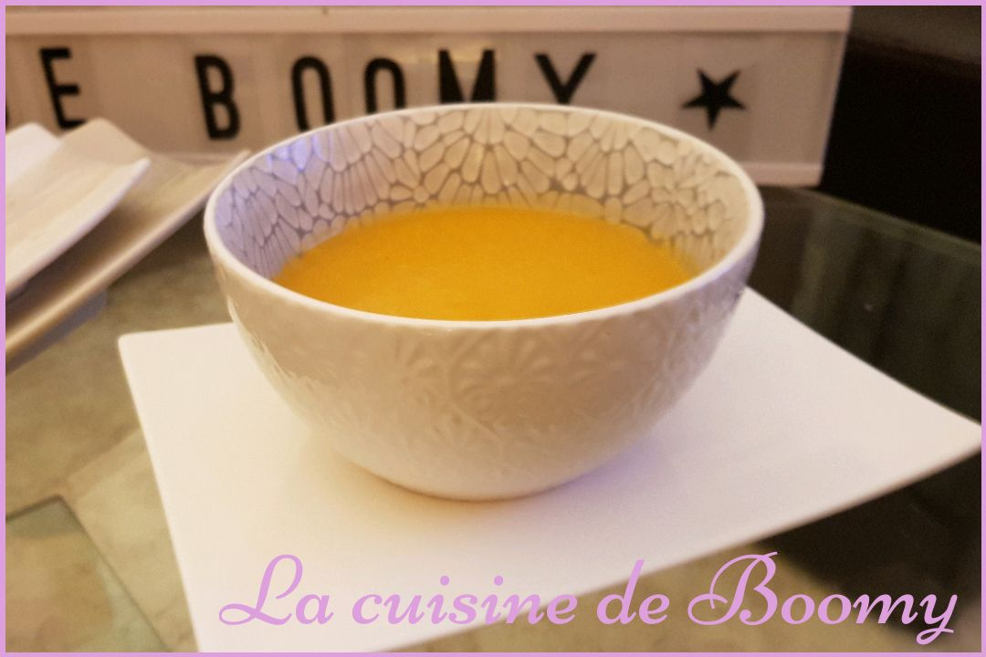 Velouté butternut / carottes (I-Cook'in)