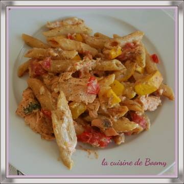One pot pasta au saumon (Cookeo)