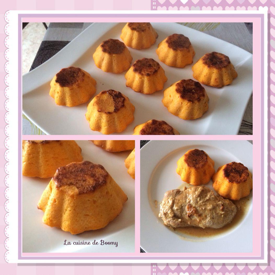 Flans de carottes (Cook'in ou non)
