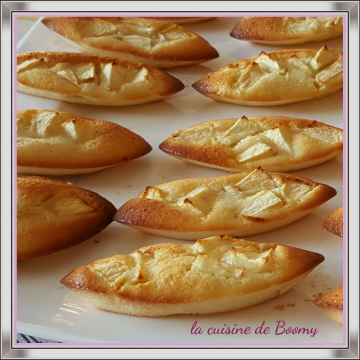 Financiers aux pommes  (Cook'in)