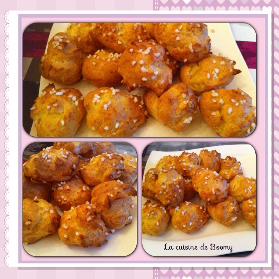 Chouquettes au Cook'in