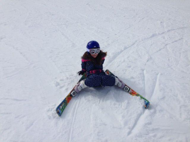 La famille Shadok fait du ski