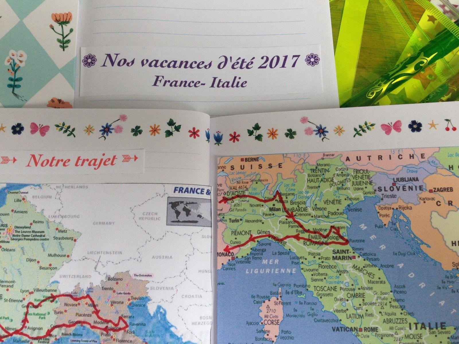 DIY: le cahier de voyage pour enfants