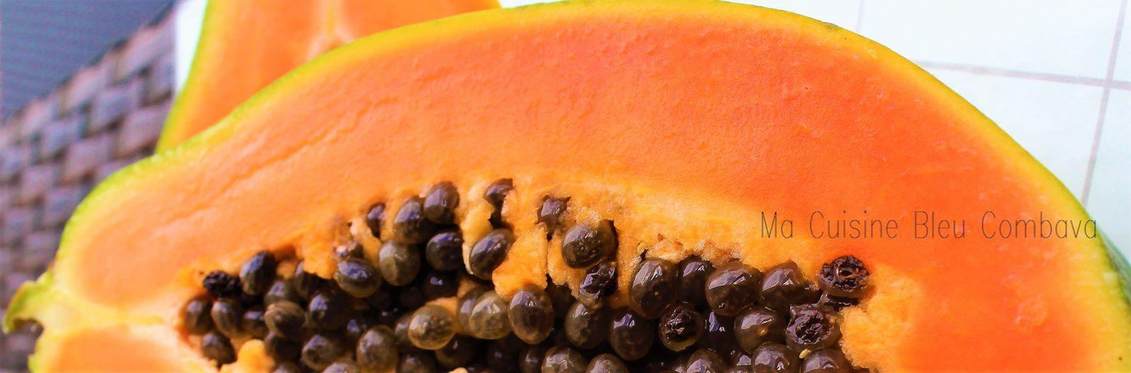 Rouelle de Porc à la Vanille et à la Papaye Rôtie~Jus aromatique réduit à l'Orange