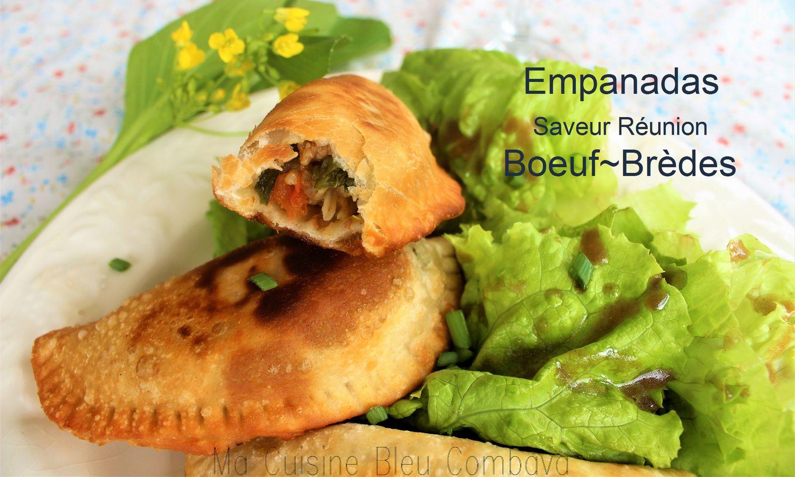 Empanadas, Saveurs Réunion, Boeuf~Brèdes