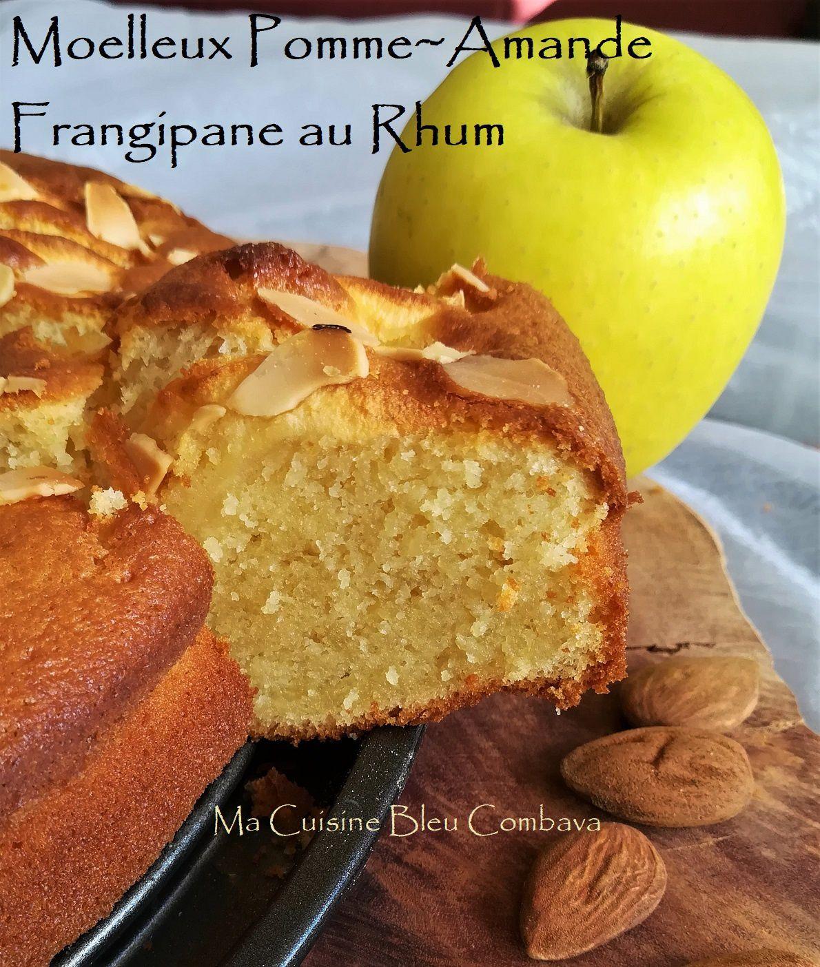 Moelleux Pomme~Amande & Frangipane au Rhum