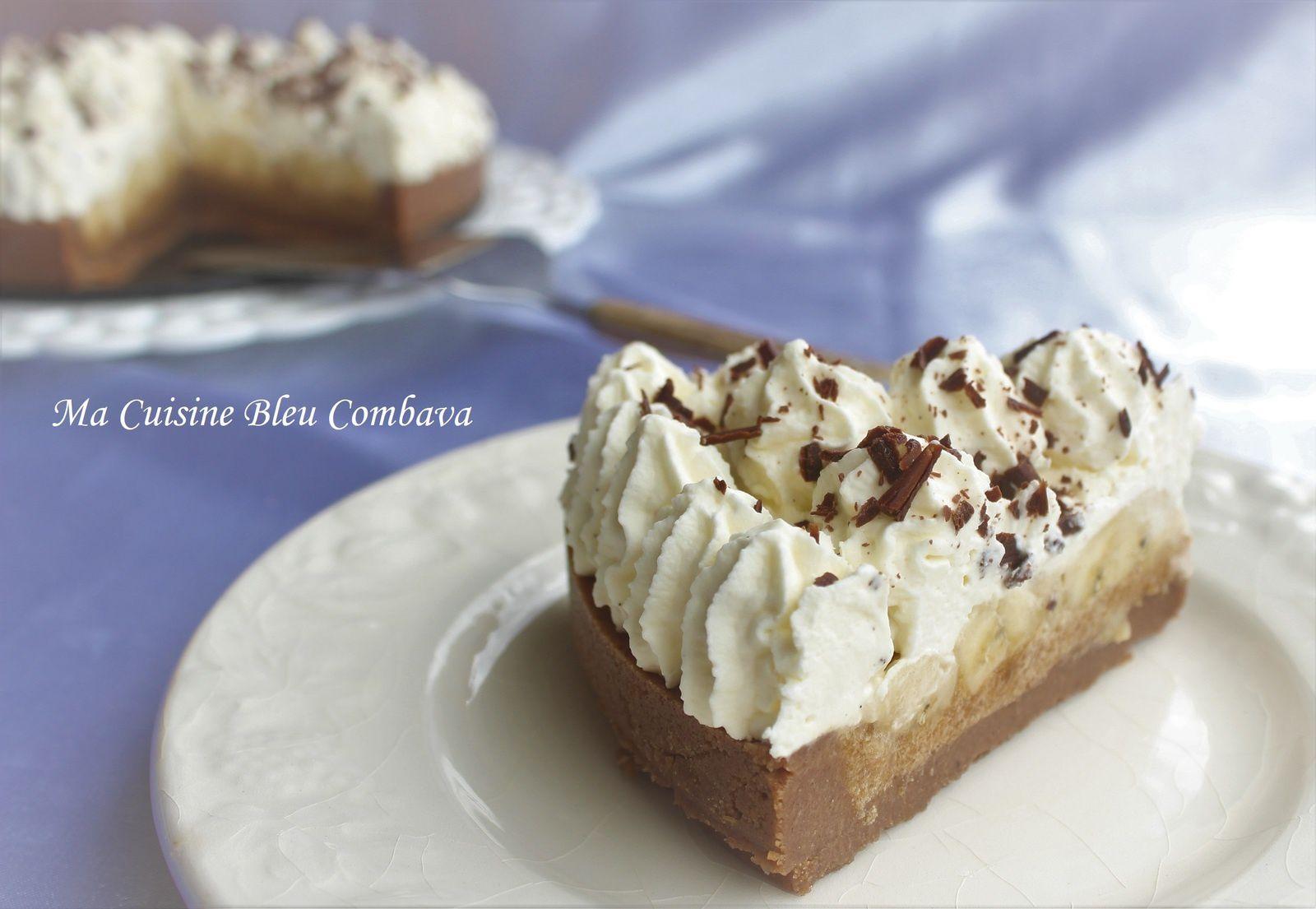 Banoffee Pie à la Vanille Bleue