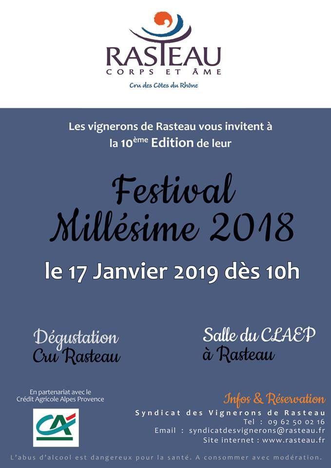 Festival Millésime 2018