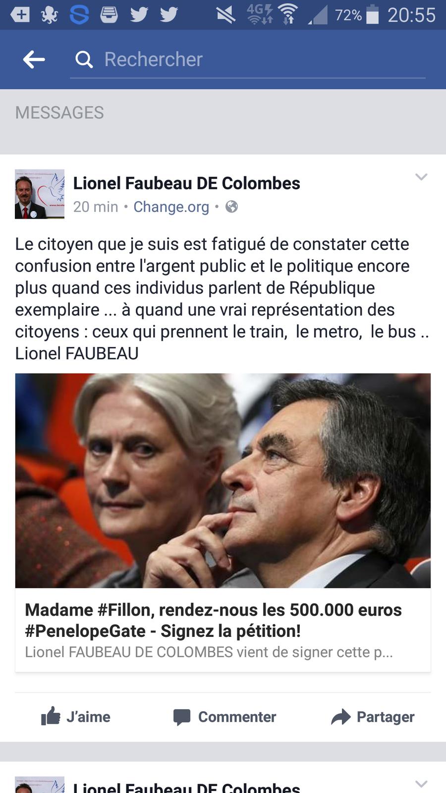 PENELOPEGATE : PAN SUR LE BEC = ce n'est pas 500 000 € mais près d'1 MILLION d'EURO que Madame FILLON à touché (les enfants 84 000 € )