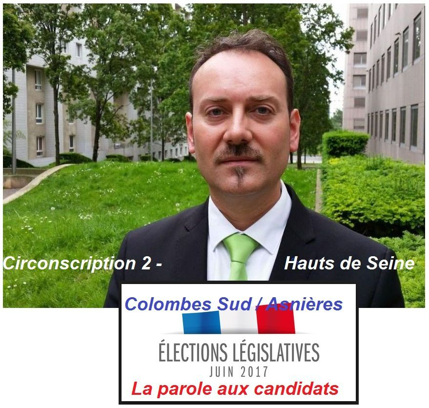 Election législatives Circonscription 2 Colombes Sud / Asnières : la parole aux candidats