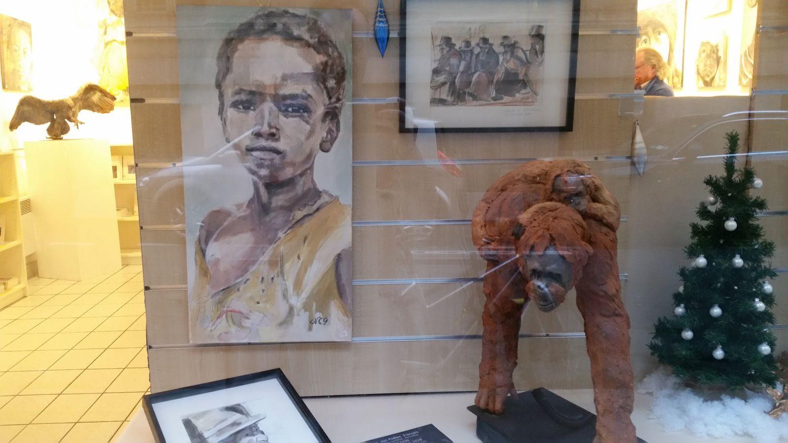 Une très belle exposition (gratuite) à voir sur Paris près de l'Odéon : peinture et sculpture