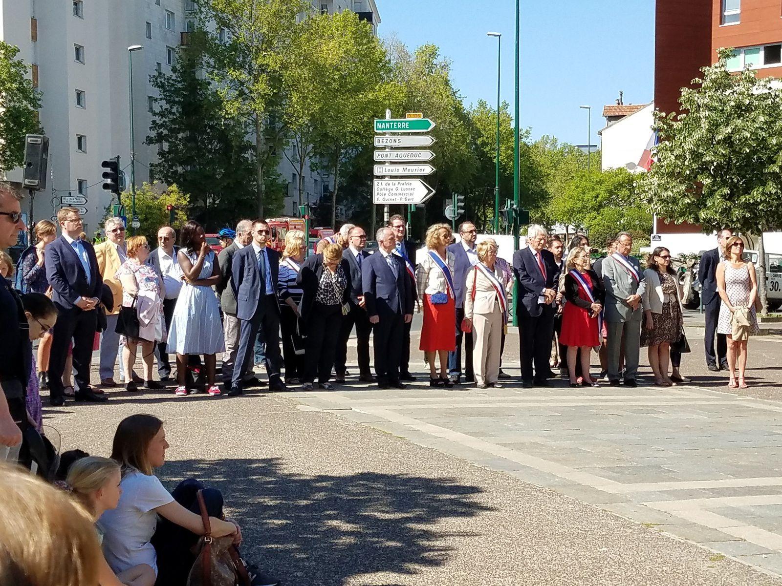 Colombes : commémoration du 8 mai 1945