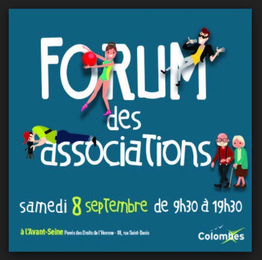 Colombes : le forum des associations sans l'association citoyenne lecolombesquejaime