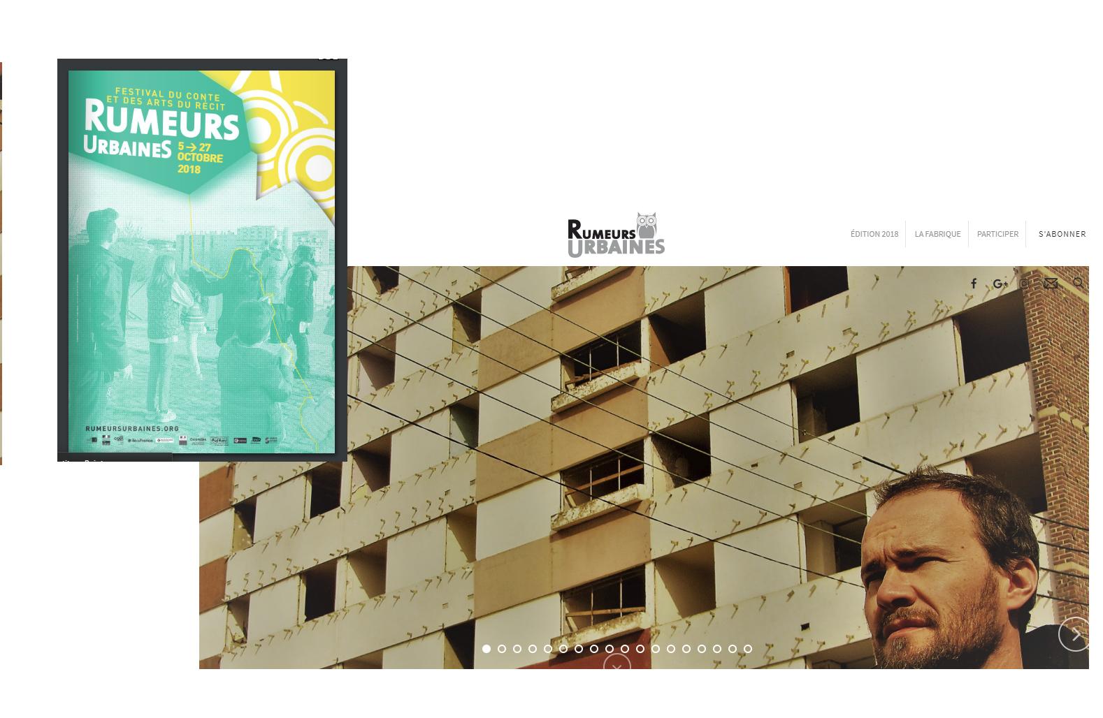 RUMEURS URBAINES : DEMANDEZ LE PROGRAMME !!