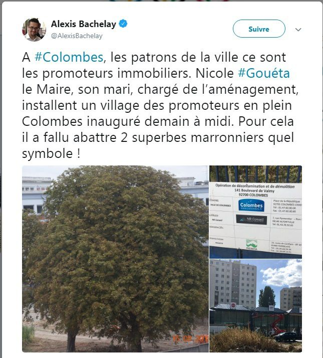 A Colombes, les patrons de la Ville sont les promoteurs immobiliers ...
