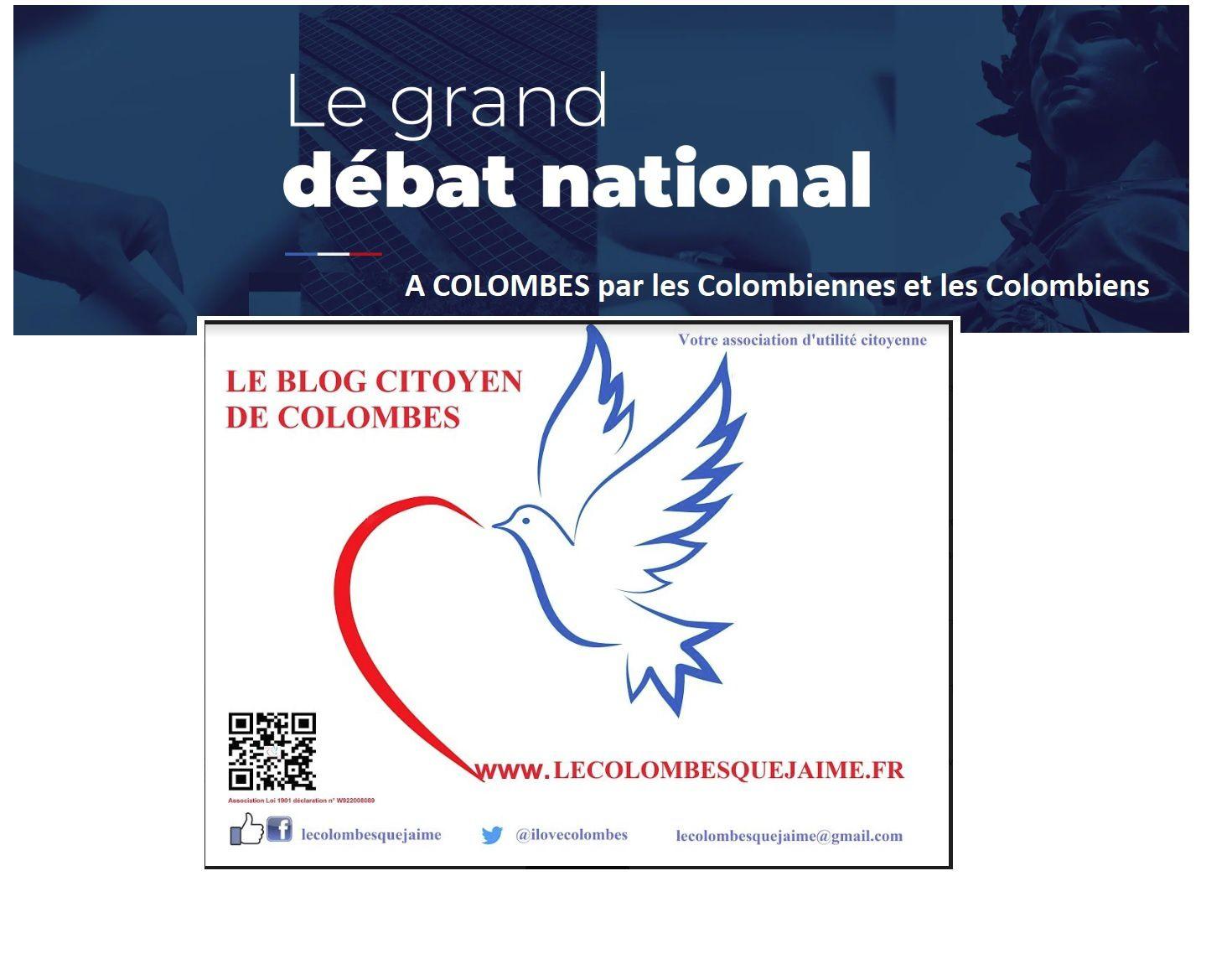 Le Grand Débat sur Colombes : une Colombienne prend la parole et vous ?