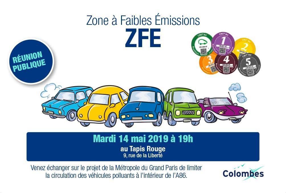Zone à Faibles Émissions Réunion le 14 mai à 19h au Tapis Rouge