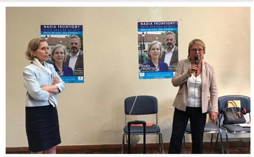 Nadia Frontigny, Adjointe LR, en charge des quartiers annonce sa candidature aux élections municipales de 2020
