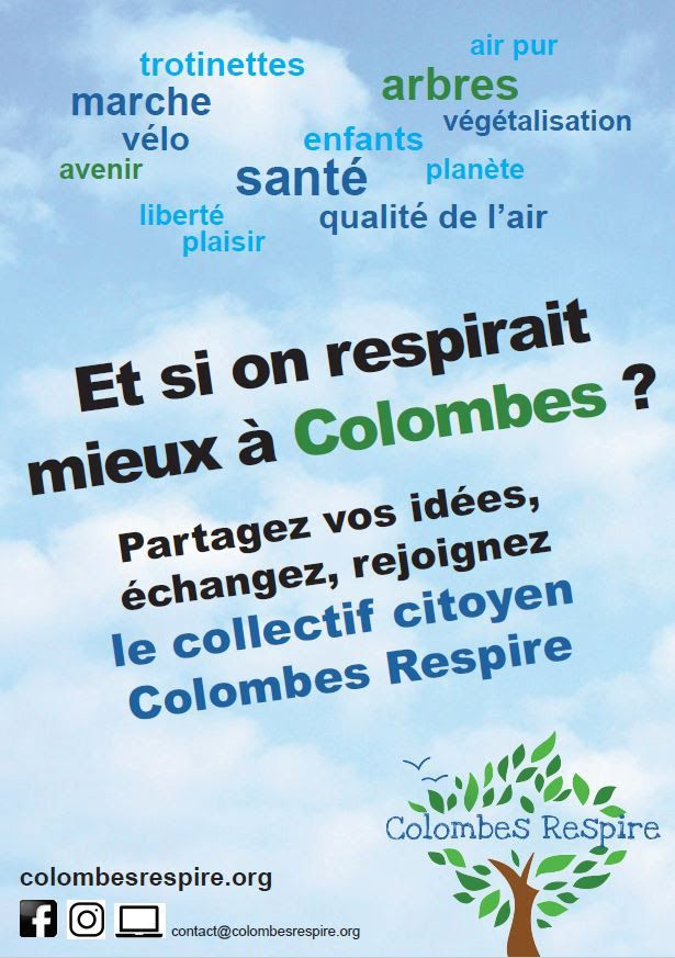 Colombes Respire recrute ;=))