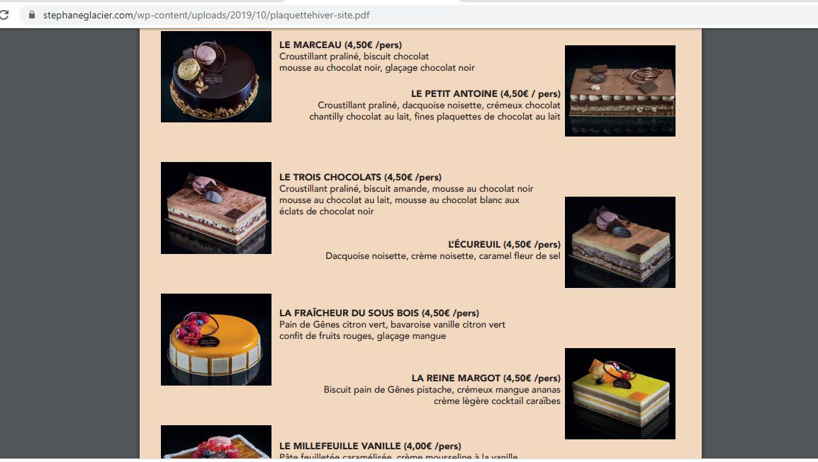 Aidons le pâtissier Stéphane GLACIER de Colombes, Meilleur Ouvrier de France
