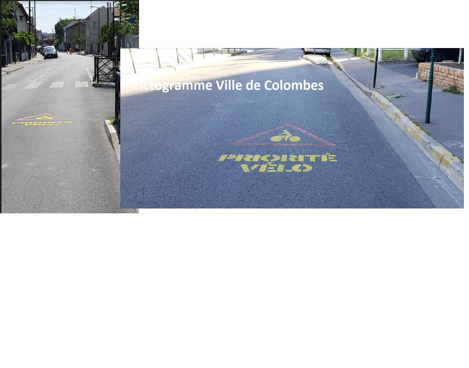 amenagement cyclable colombes