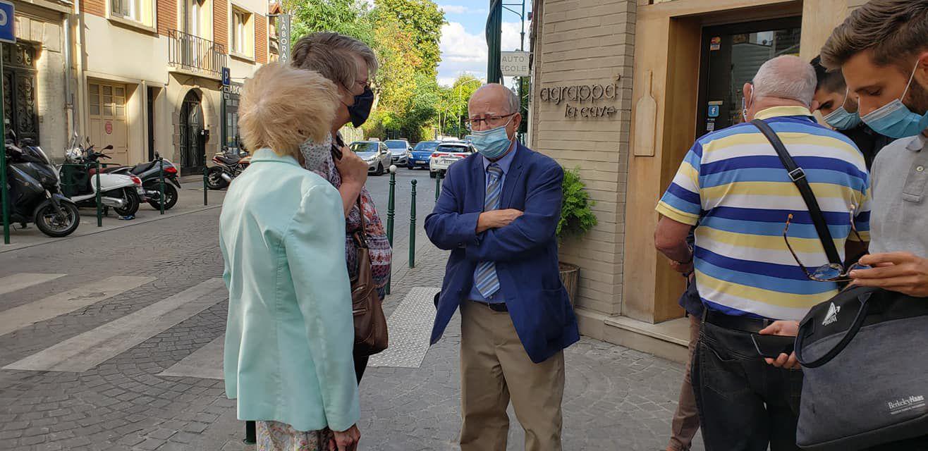Le Maire de Colombes : Patrick CHAIMOVITCH à la rencontre des habitants du quartier des Vallées