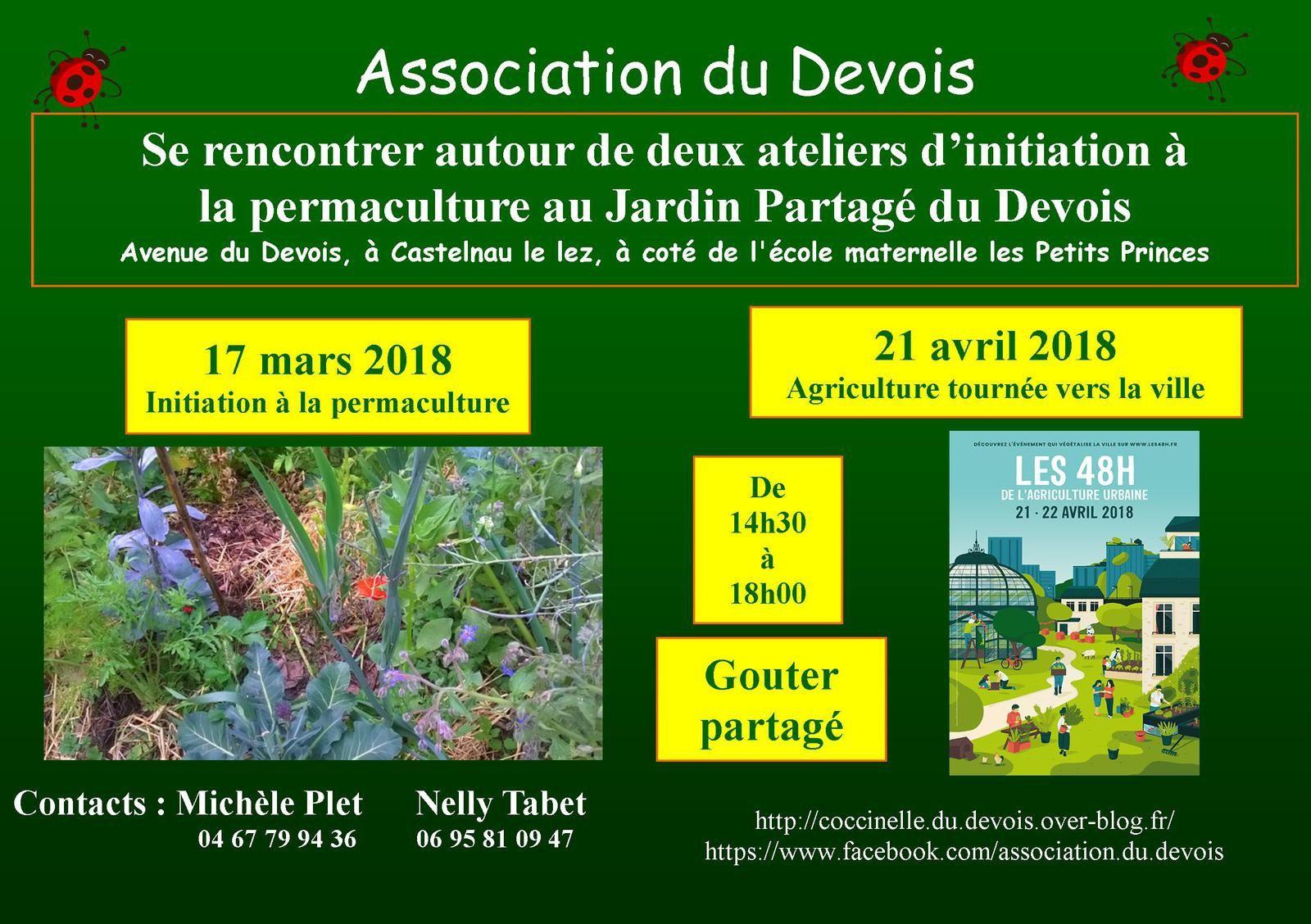 Samedi 21 avril : les 48H de l'agriculture urbaine