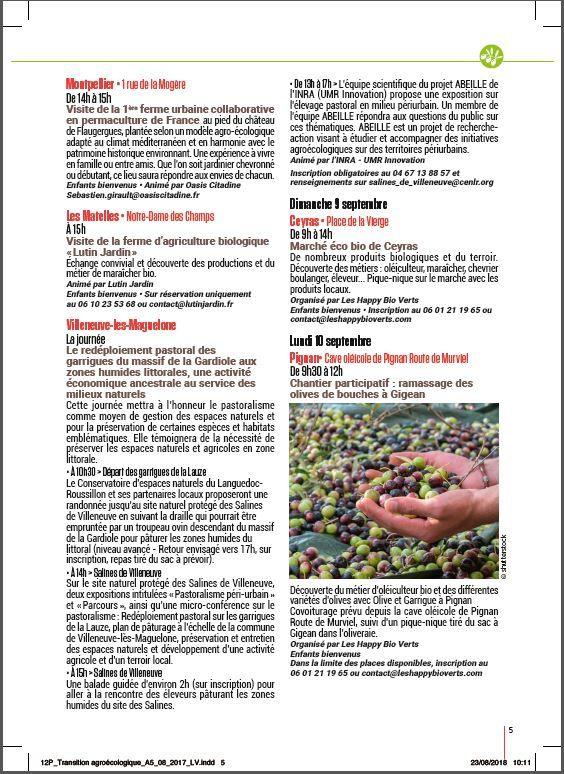 Le mois de la transition agroécologique et de l'alimentation durable
