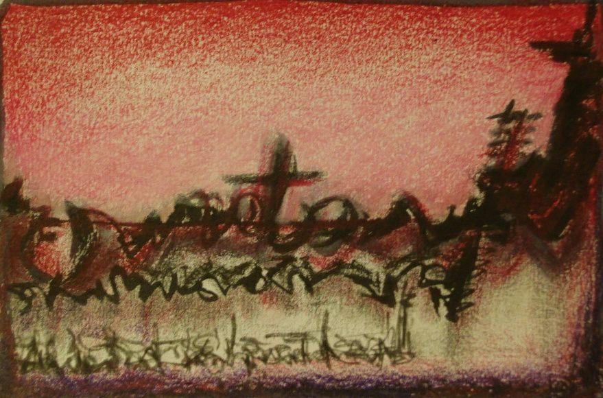 EcrituresV...pastel/ encre 2007
