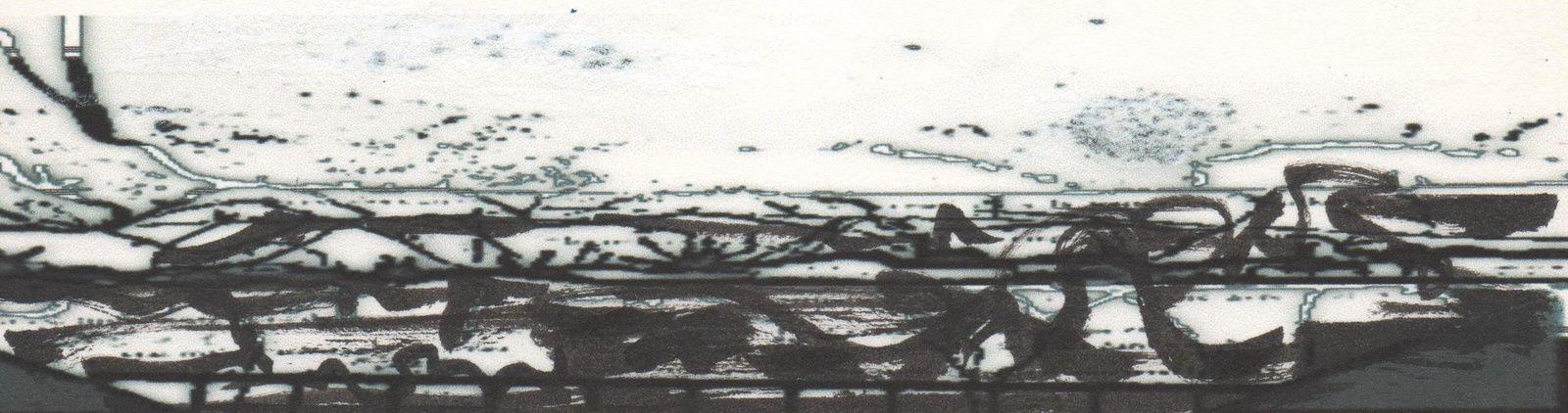 Eaux Noires XIV.....crayon/ence