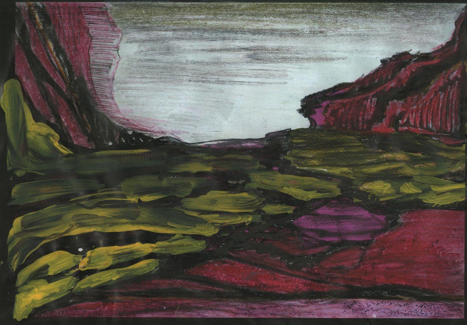 Rge&Noir VI-2, EspaceIX, Espace VI...pastel...2013