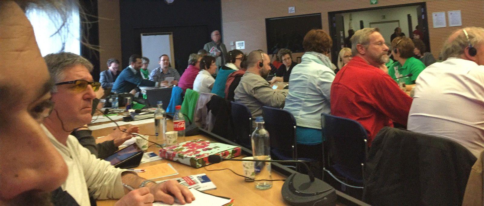 1ere journée européenne d'action contre la commercialisation de la santé et de la protection sociale.
