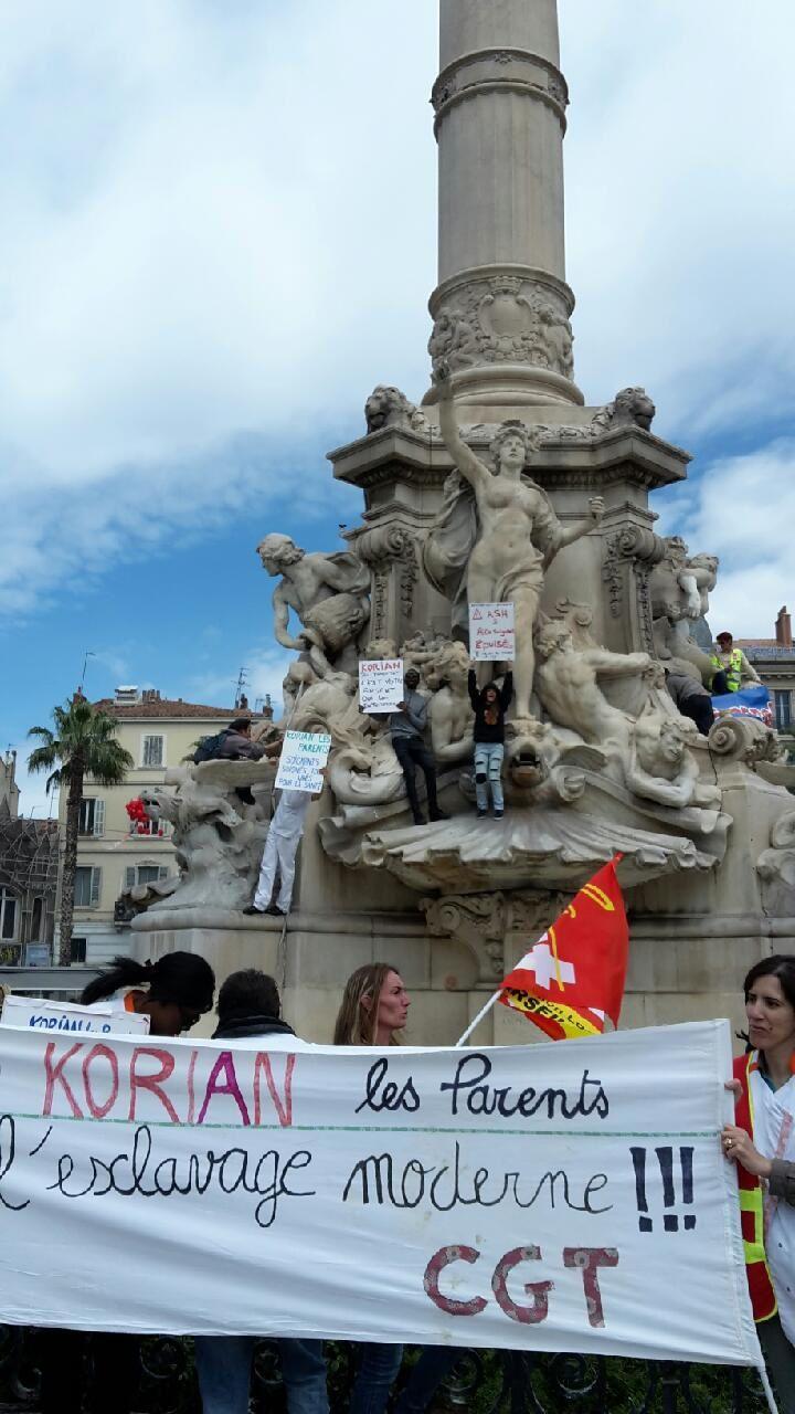 Korian Les Parents à Marseille: la lutte en direct!