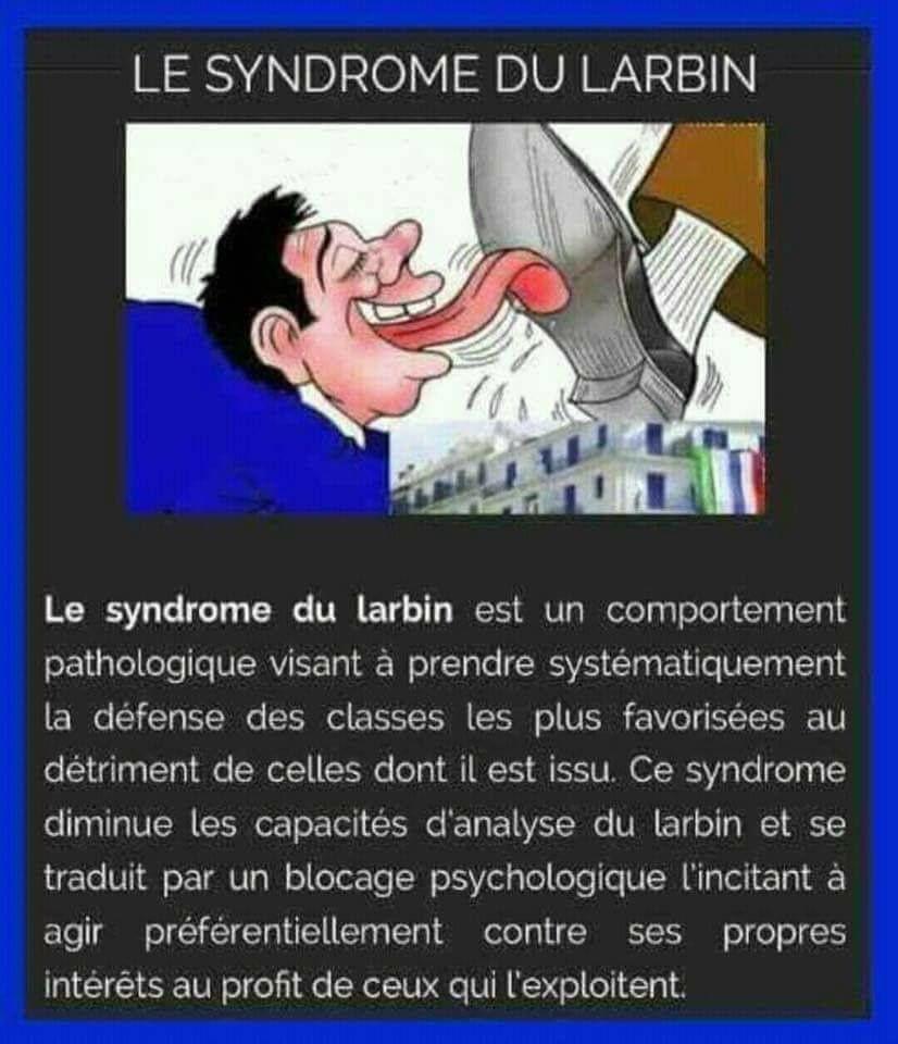 Le syndrome du larbin (à visionner jusqu'au bout!).